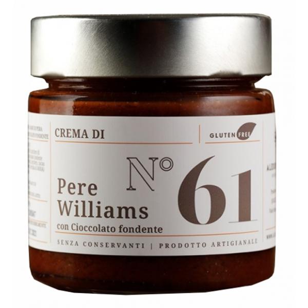Alessio Brusadin - Crema Extra di Pere Williams e Cioccolato Fondente - Creme Extra al Cioccolato - Creme Artigianali