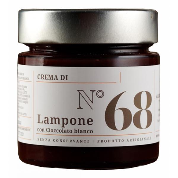 Alessio Brusadin - Crema Extra di Lamponi e Cioccolato Bianco - Creme Extra al Cioccolato - Creme Artigianali