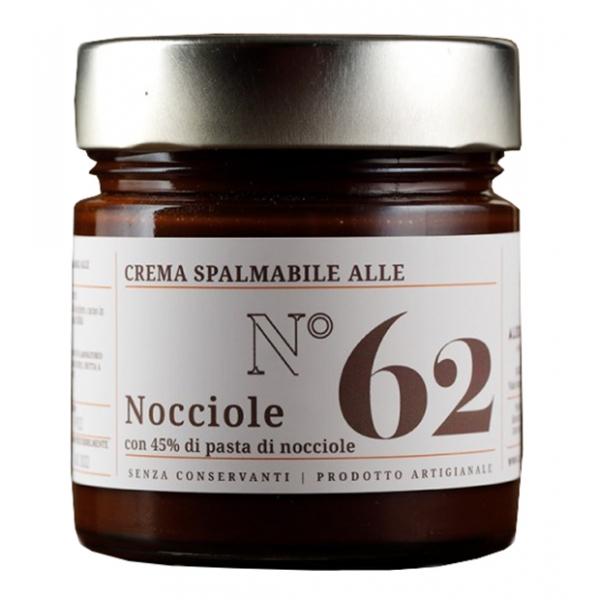 Alessio Brusadin - Spreadable Cream with Hazelnuts - The Chocolate Jams - Artisan Creams