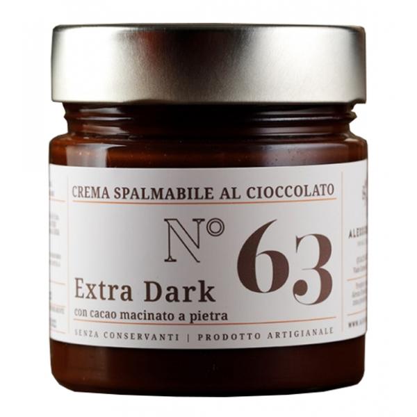 Alessio Brusadin - Crema Spalmabile al Cioccolato Extra Dark - Creme Extra al Cioccolato - Creme Artigianali