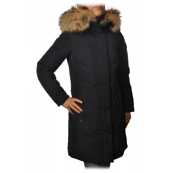"""Woolrich - Giubbotto """"Luxury Boulder"""" - Nero - Giacca - Luxury Exclusive Collection"""