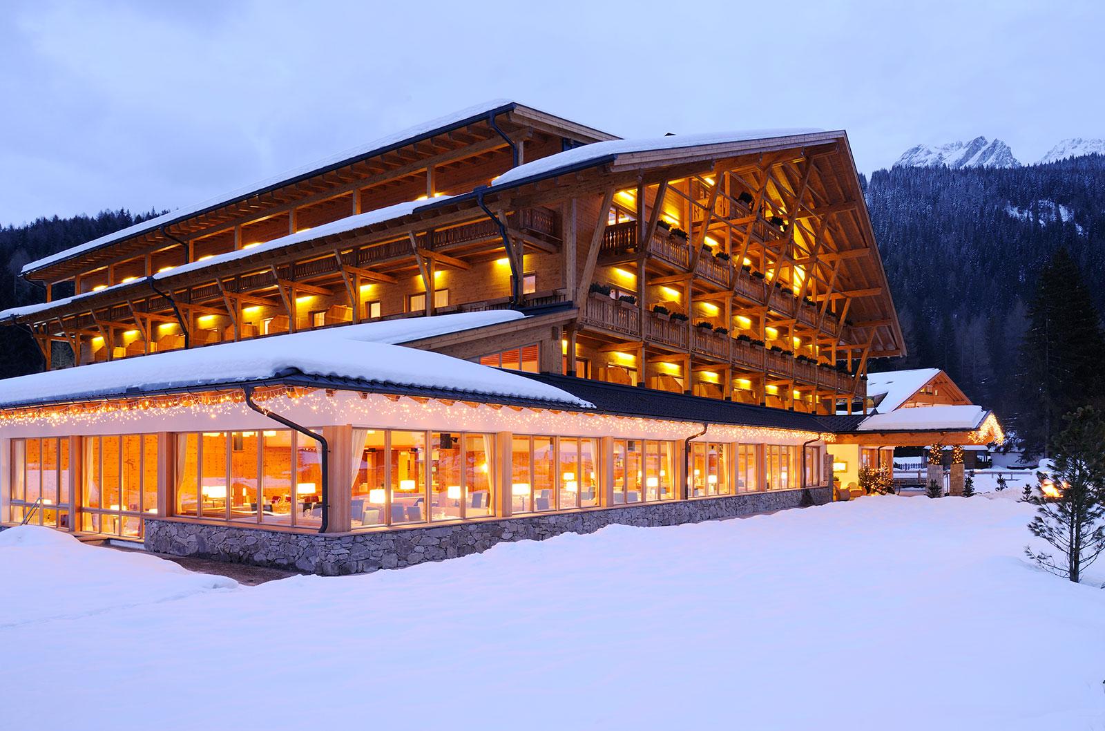 Corte Delle Dolomiti Spa bad moos - dolomites spa resort - avvenice