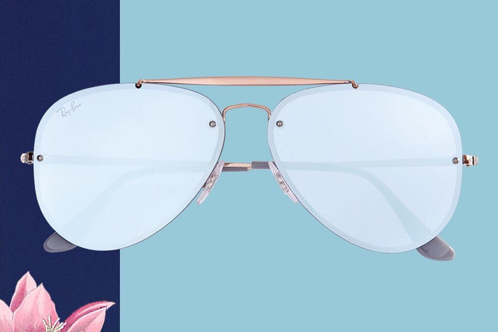 5fb14fcf2d9d6 The original glasses featured a plastic frame with the now classic Aviator  shape. The sunglasses were remodeled with a metal frame the following year  and ...
