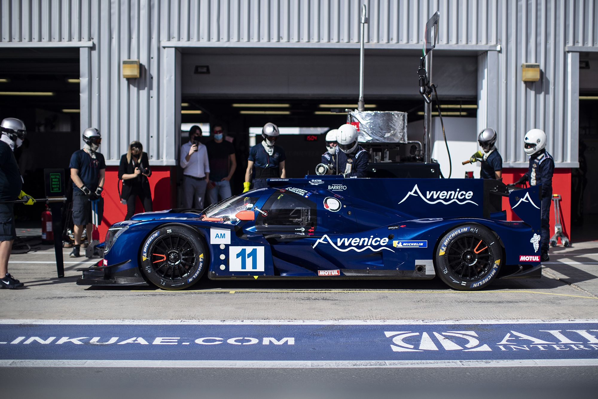 Avvenice Official Asian Le Mans - Dubai - Eurointernational Team - ALMS - ELMS