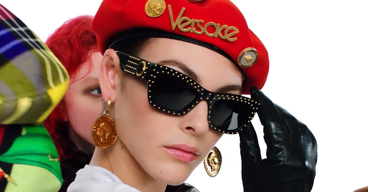 Versace - Sunglasses Tribute Trésor de la Mer Print - Versace Eyewear